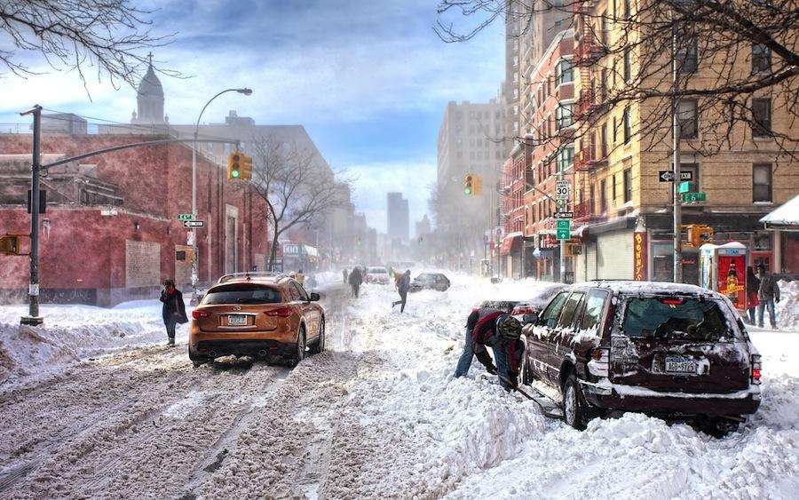 Как справиться с заносом автомобиля в зимнее время