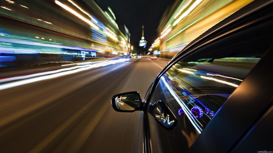 Скорость движения транспортного средства